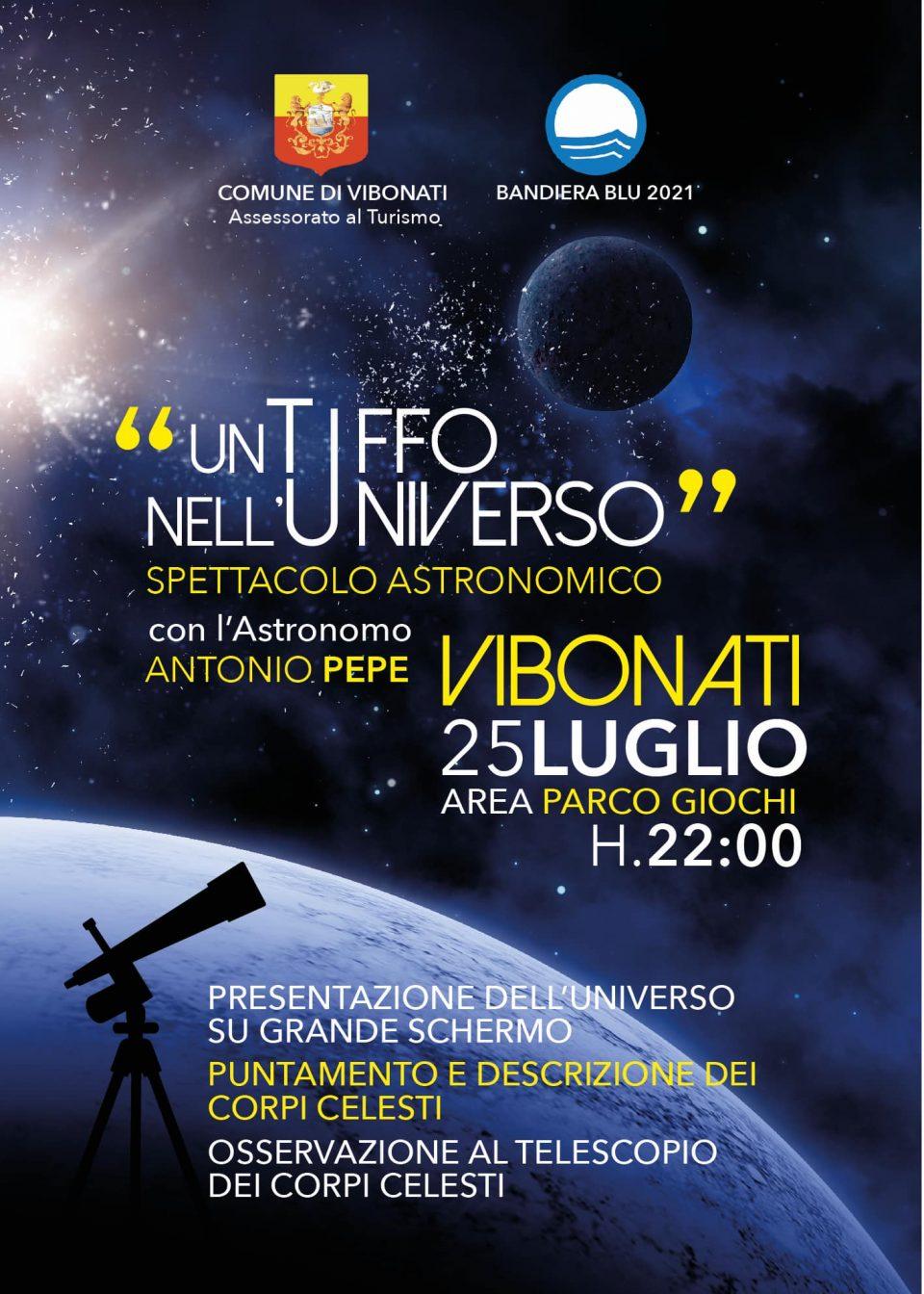 Tuffo universo 2021 Vibonati Cilento locandina 960x1344 - Un Tuffo nell' universo 2021, Vibonati (SA), 25 luglio 2021