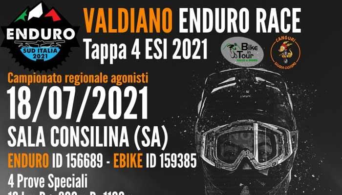 Valdiano Enduro Race 2021 Sala Consilina Cilento - Sala Consilina, Valdiano Enduro Race - 21/7/21