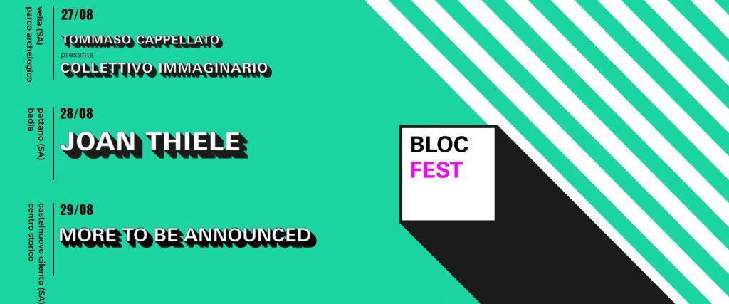 blocfestival 1024x427 - Cilento, rassegna Bloc Fest dal 27 al 29 agosto 2021