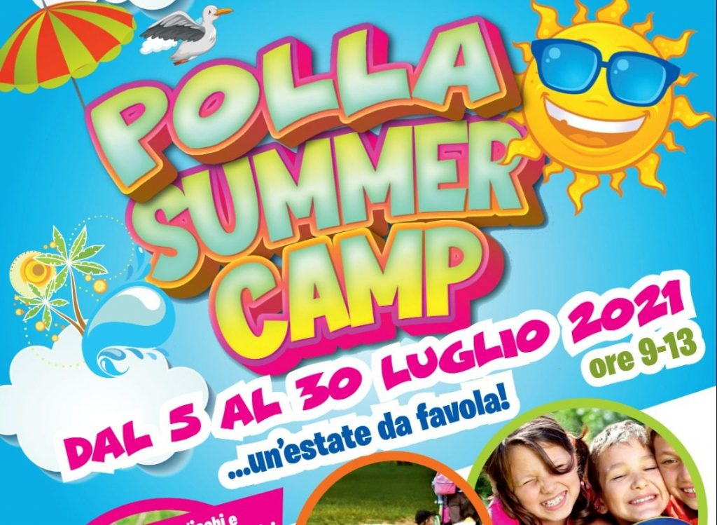 """Polla, inaugurazione ed apertura """"Polla Summer Camp 2021 – Un'estate da favola"""""""