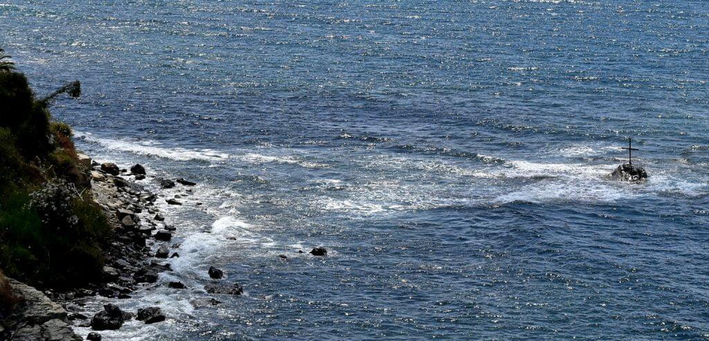 scogliosanfrancescotitolo 1024x493 - Agropoli, la spiaggia di San Francesco - fotogallery e 360