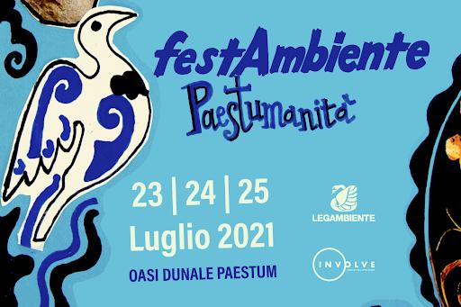 unnamed - Festambiente Paestumanità festival di ecologia, arte, solidarietà - dal 23 al 25/7/21