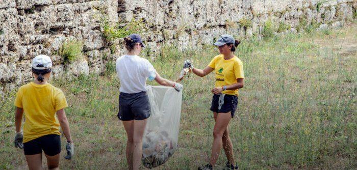 Legambiente, Volontariato ambientale, sociale e culturale a Paestum