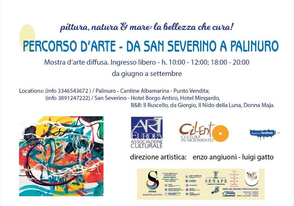 DA SAN SEVERINO A PALINURO, PERCORSO D'ARTE – fino al 12/9/21