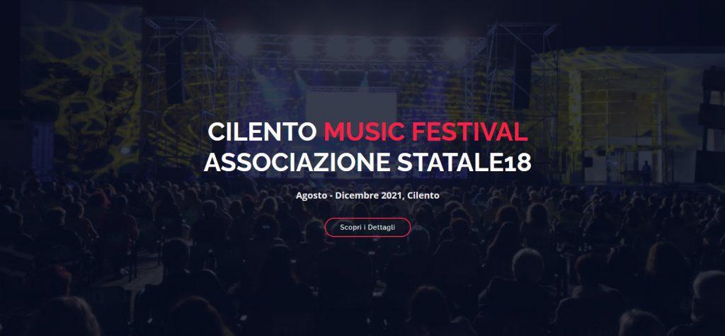 Continua il CILENTO MUSIC FESTIVAL la seconda parte di concerti vede protagonisti musicisti della tradizione folk e pop