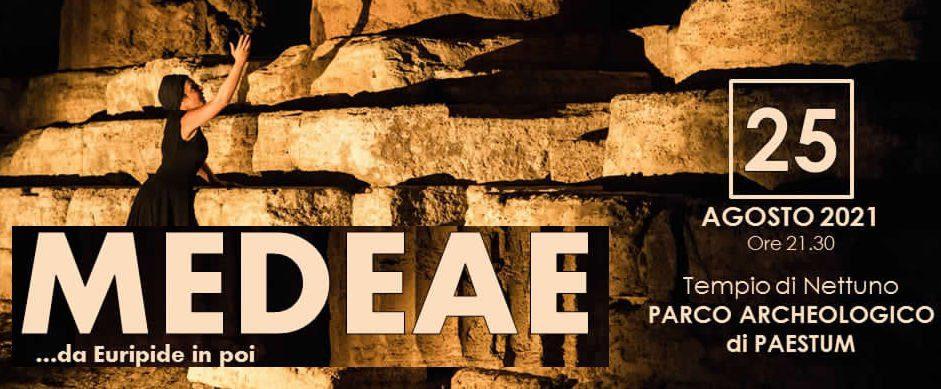 Paestum, Medeae da Euripide in poi – 25 Agosto 2021