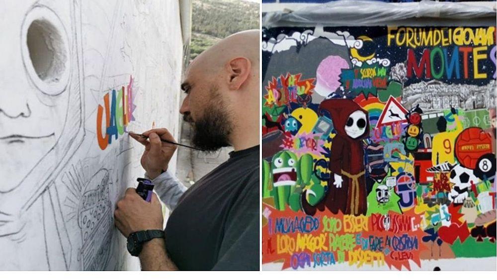 03092021 street art monte san giacomo 03 - Monte S. Giacomo, Street Art Experience con l'Officina Culturale & Creativa