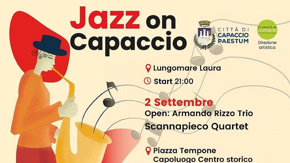 31082021 jazz on capaccio 03 - Capaccio, festival della musica jazz dal 2 al 4 settembre