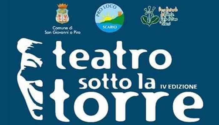 Teatro Sotto Torre Scario 2021 Cilento Spettacoli - Scario, Teatro sotto la torre - ultimi due giorni (locandina)