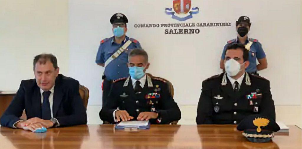 carabinieri 1024x507 - Salerno, custodia cautelare a carico di 23 persone per traffico di droga