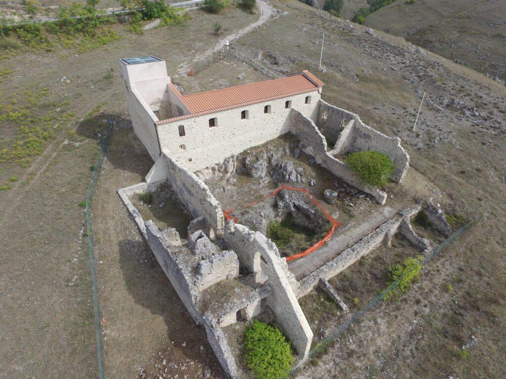 DJI 0123 1024x768 - Grande Lucania: apertura straordinaria del Monastero di Santa Maria dell'Aspro - Marsicovetere, Pz - Giornate FAI 16 e 17/10/21 (video)