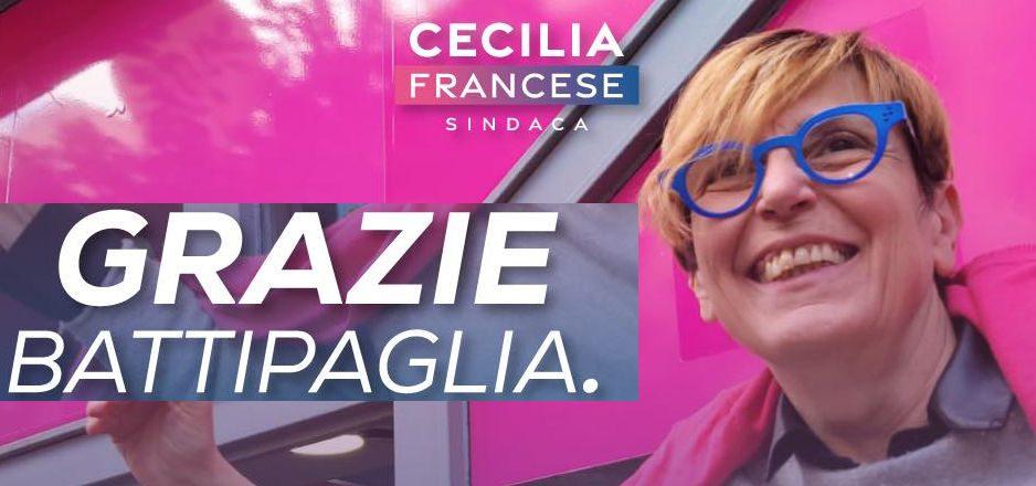francese - Battipaglia, vince la sindaca Francese