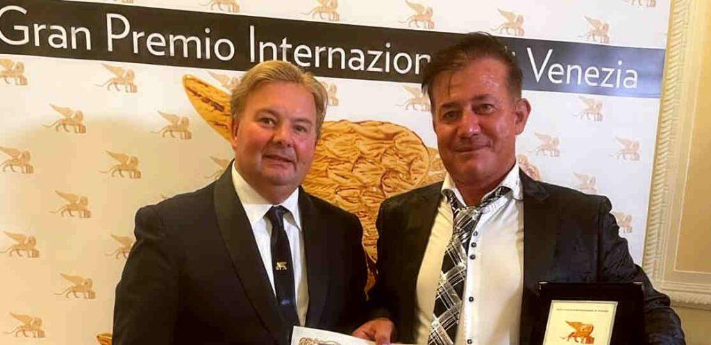 migi 1024x497 - L'asceota Migi Marton premiato al Gran Premio internazionale di Venezia